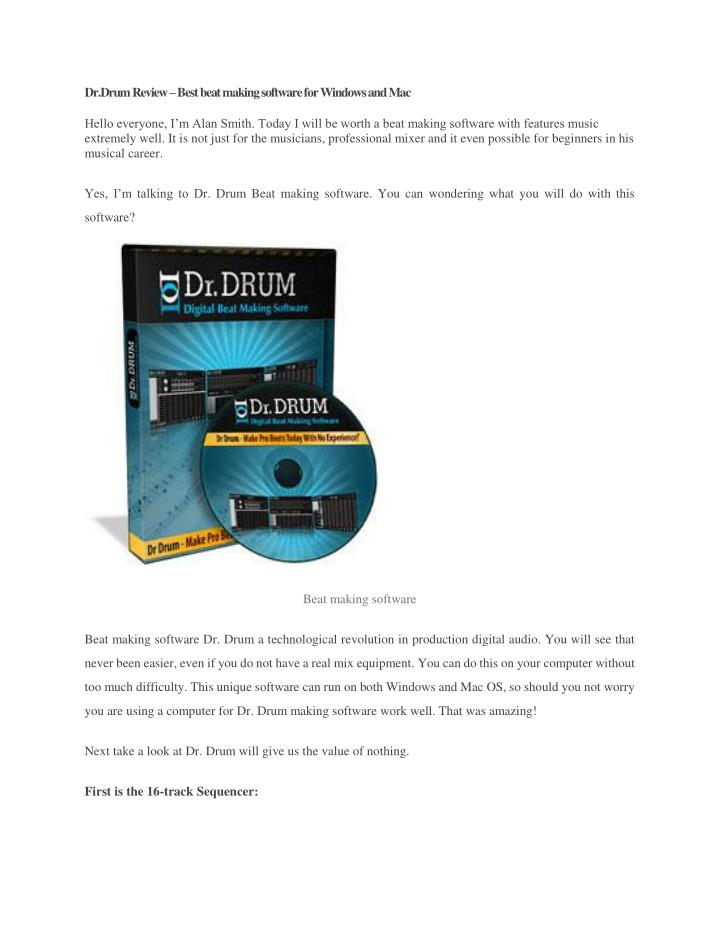 Dr.Drum Review