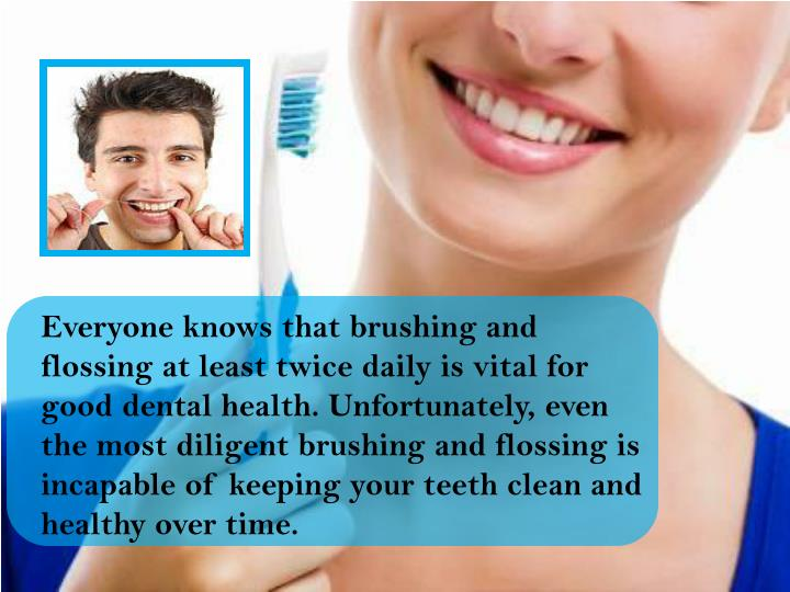 Everyone knows that brushing and  flossing at least twice daily is vital for good dental health. Unf...