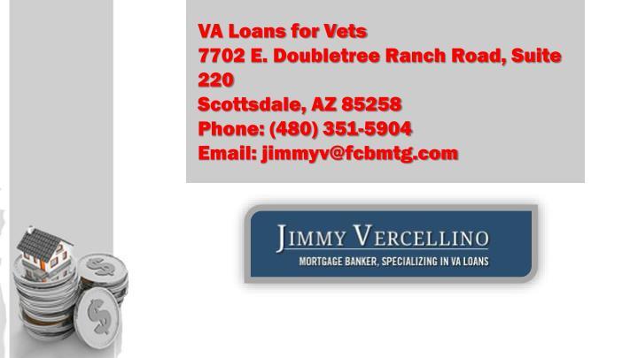 VA Loans for Vets