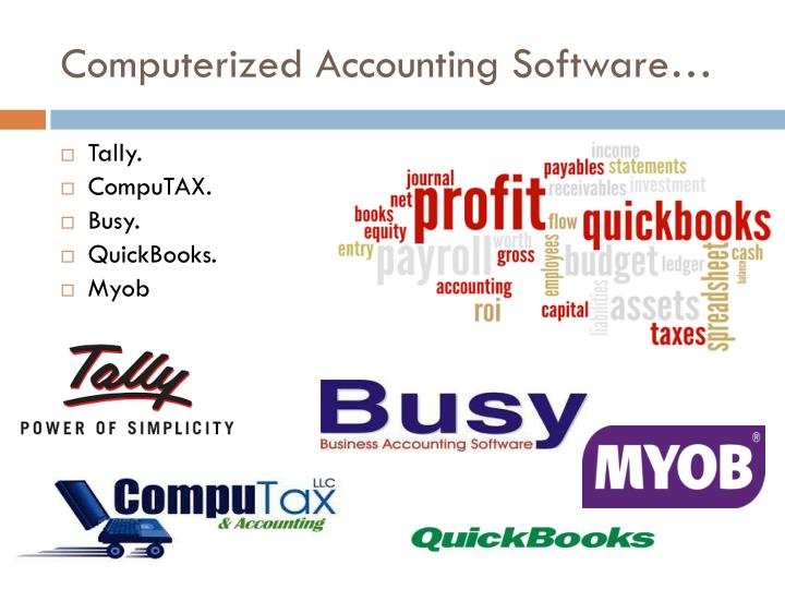Computerized Accounting Software…