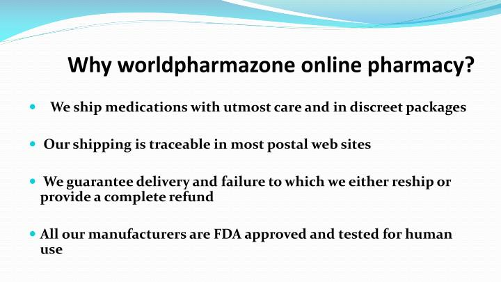 Why worldpharmazone online pharmacy