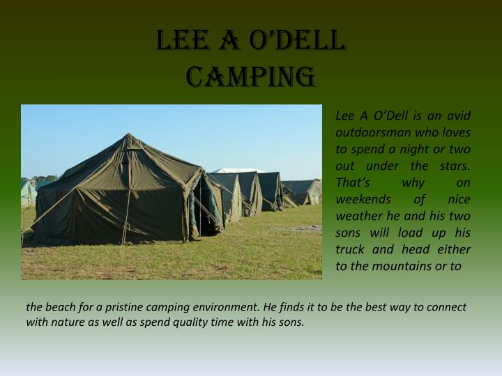Lee a o dell camping