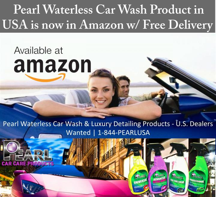 Pearl Waterless Car Wash Product in