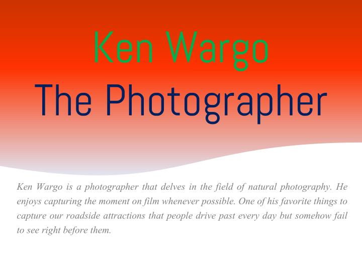 ken wargo the photographer