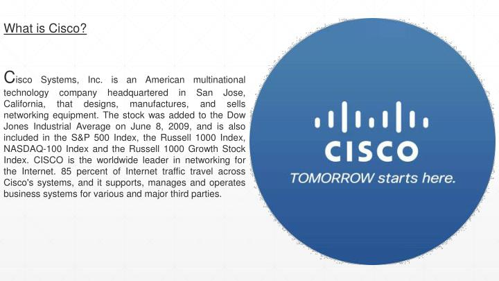 What is Cisco?