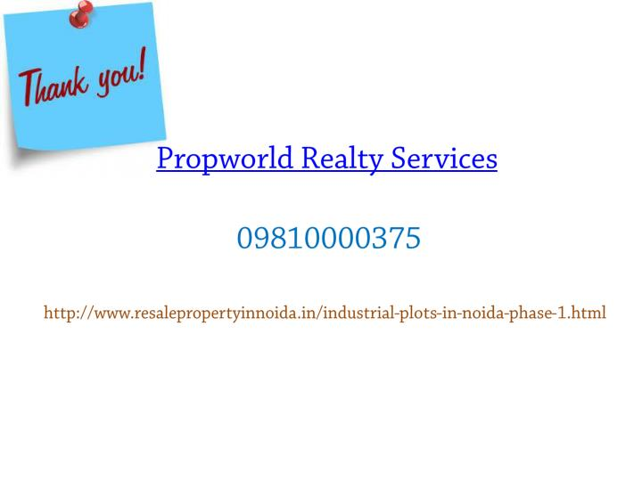 Propworld Realty Services