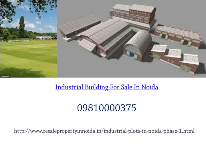 Industrial Building For Sale In Noida