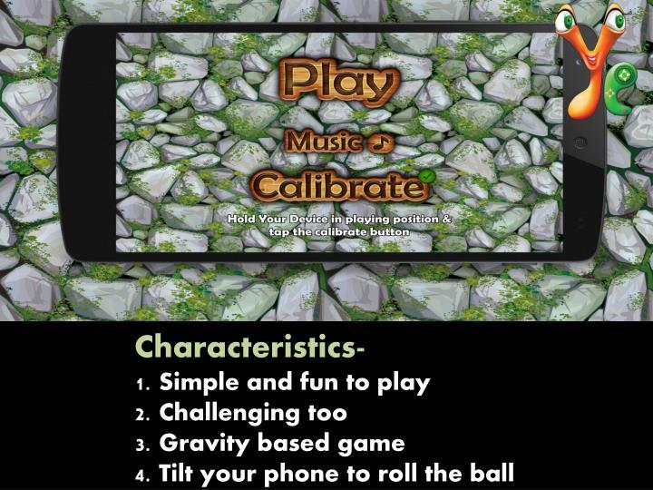 Characteristics-