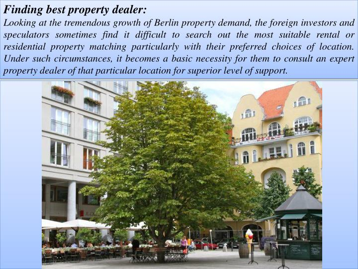 Finding best property