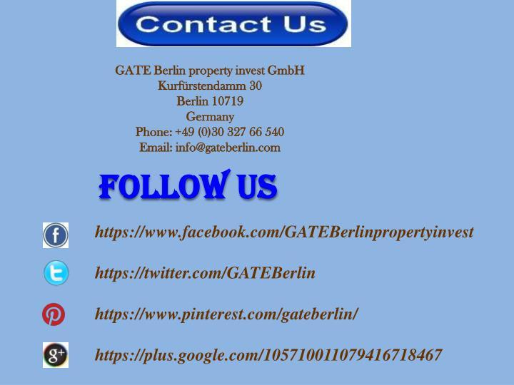GATE Berlin property invest GmbH