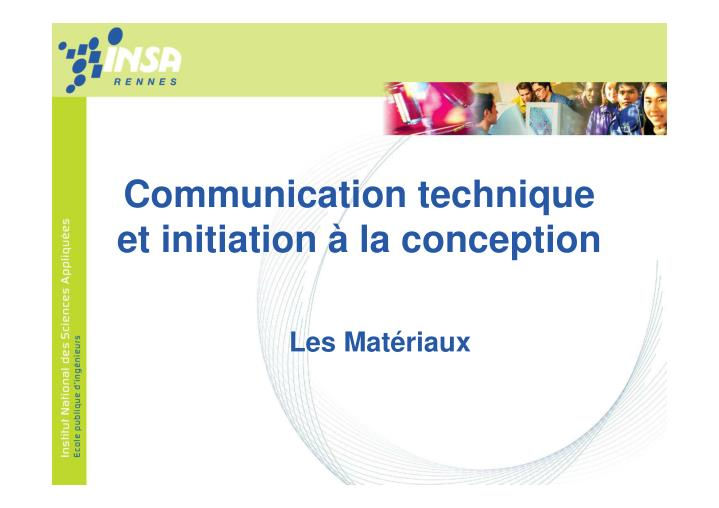 Communication technique