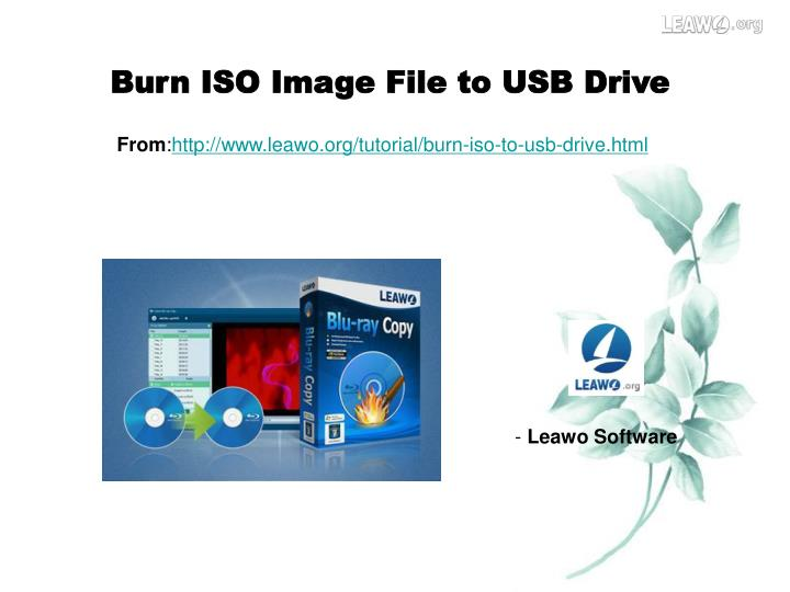 how to run iso from usb