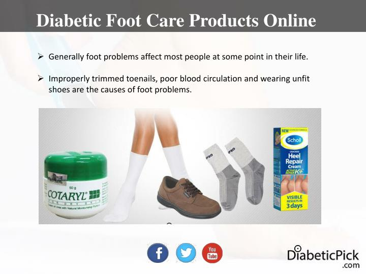 Diabetic Foot Care Products Online