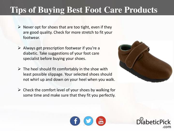 Tips of Buying Best Foot Care Products