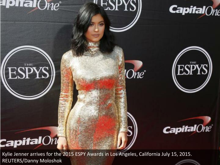 Kylie Jenner arrives for the 2015 ESPY Awards in Los Angeles, California July 15, 2015. REUTERS/Danny Moloshok