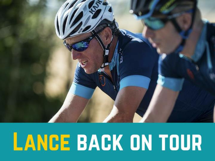 Lance back on tour