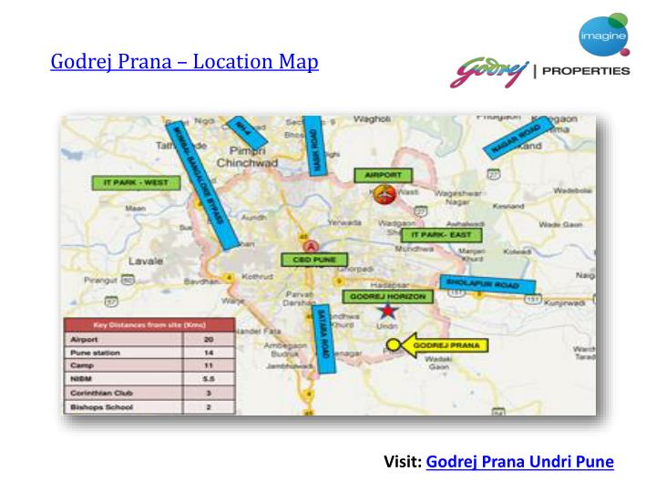 Godrej Prana – Location Map