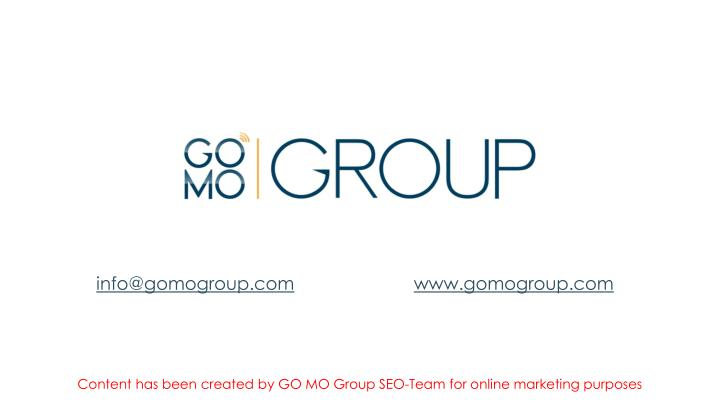 info@gomogroup.com
