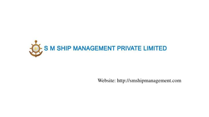 Website http smshipmanagement com