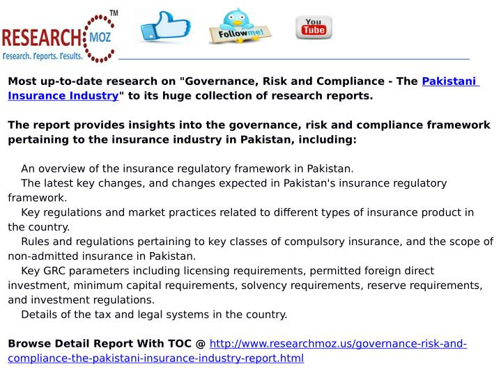 "Most up-to-date research on ""Governance, Risk and Compliance - The Pakistani"