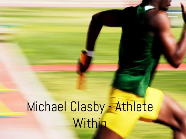 Michael clasby athlete within