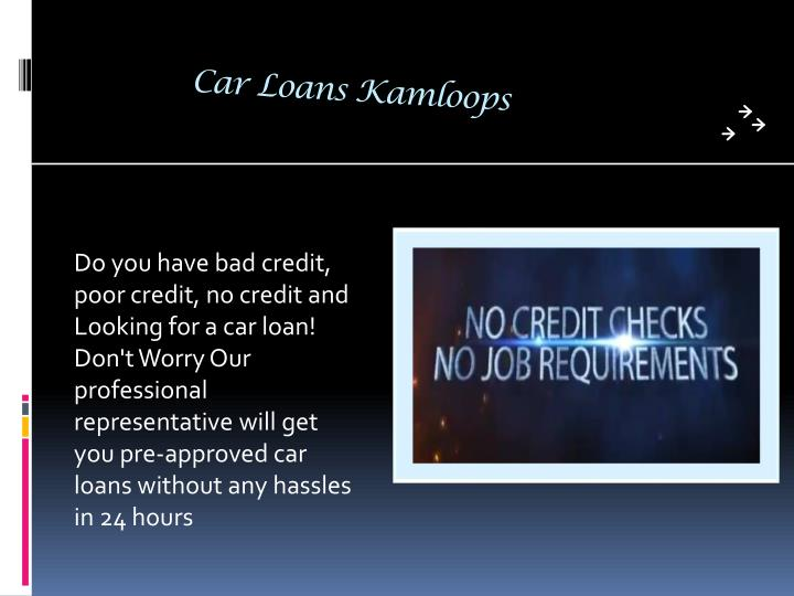 Car Loans Kamloops