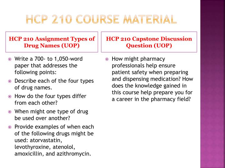 Hcp 210 course material1