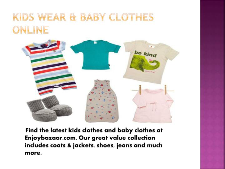 Kids Wear & Baby Clothes Online