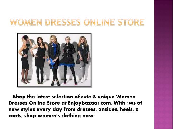 Women Dresses Online Store