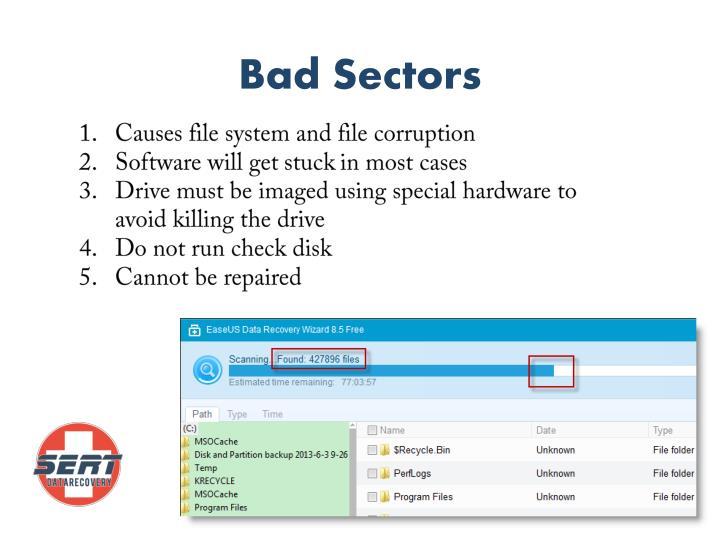 Bad Sectors