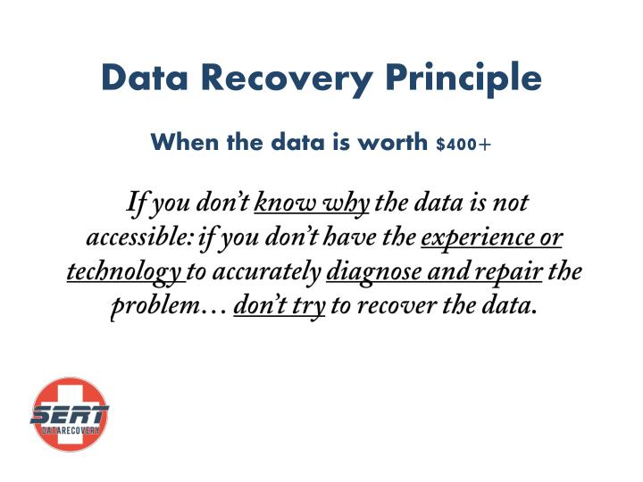Data Recovery Principle