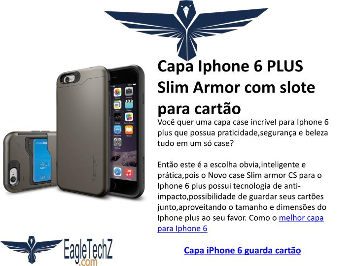 Capa Iphone 6 PLUS