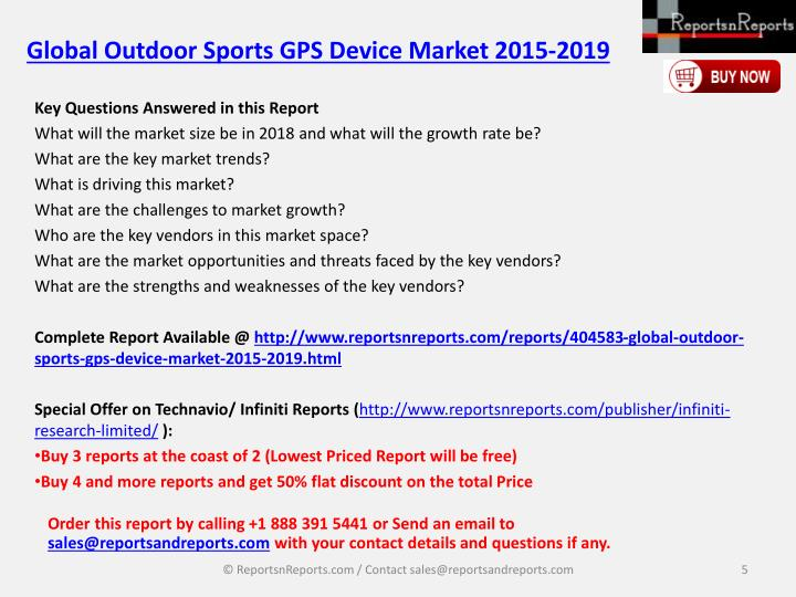 Global Outdoor Sports GPS Device Market 2015-2019