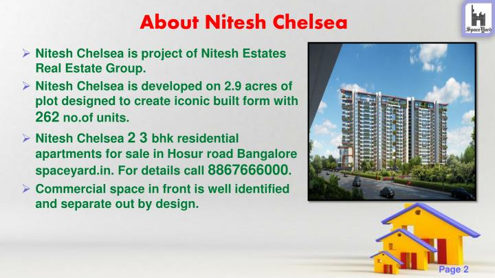 About Nitesh Chelsea
