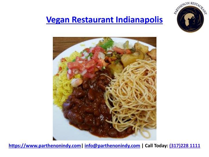 Vegan Restaurant Indianapolis