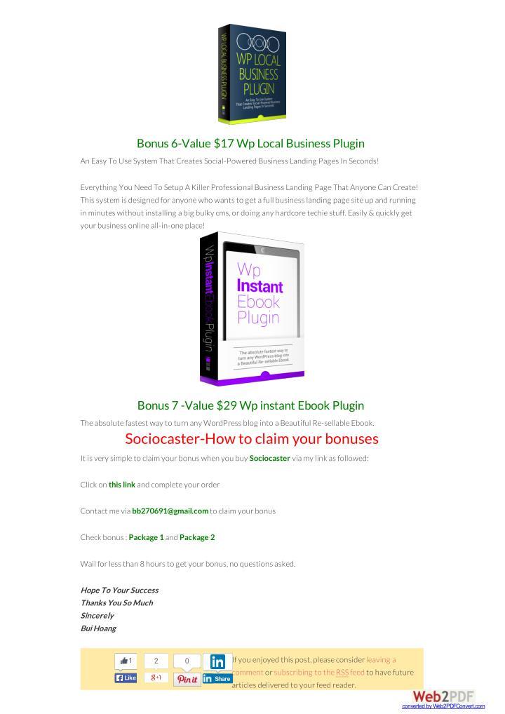Bonus 6-Value $17 Wp Local Business Plugin