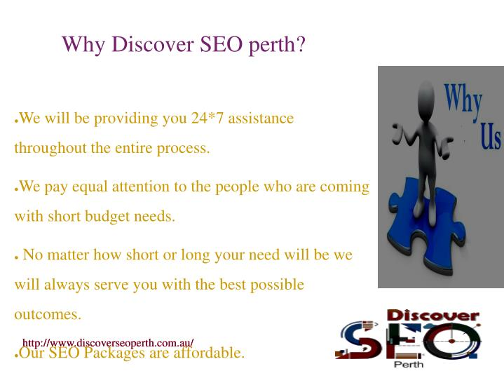 Why Discover SEO perth?