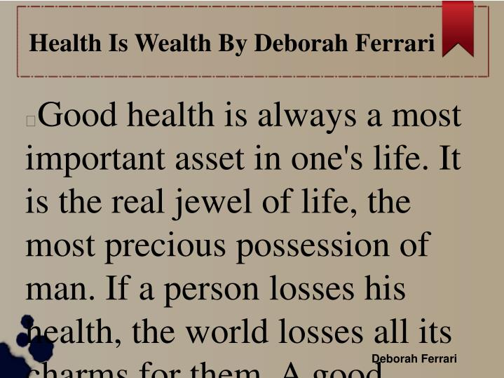 essay on health is wealth for school children similar articles