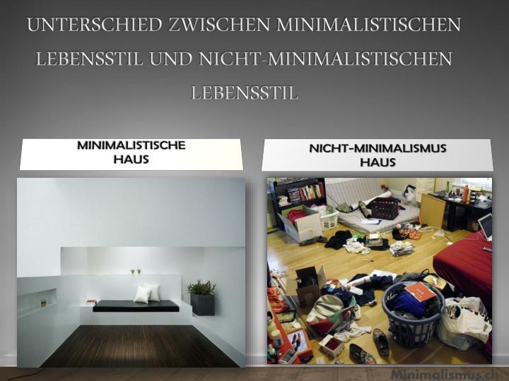 Ppt minimalismus ein w rdigsten geschichte powerpoint for Minimalismus im haus