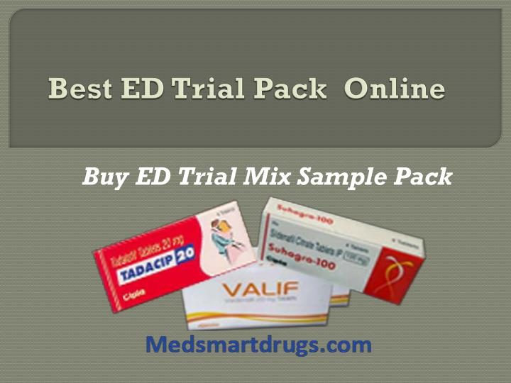 Best ed trial pack online