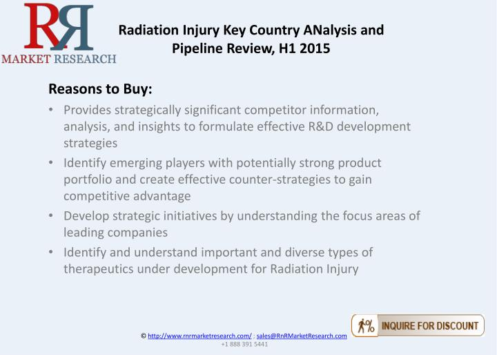 Radiation Injury Key Country