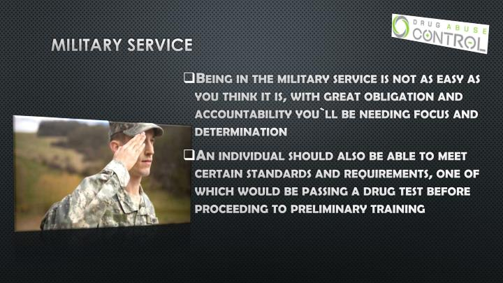 Military service