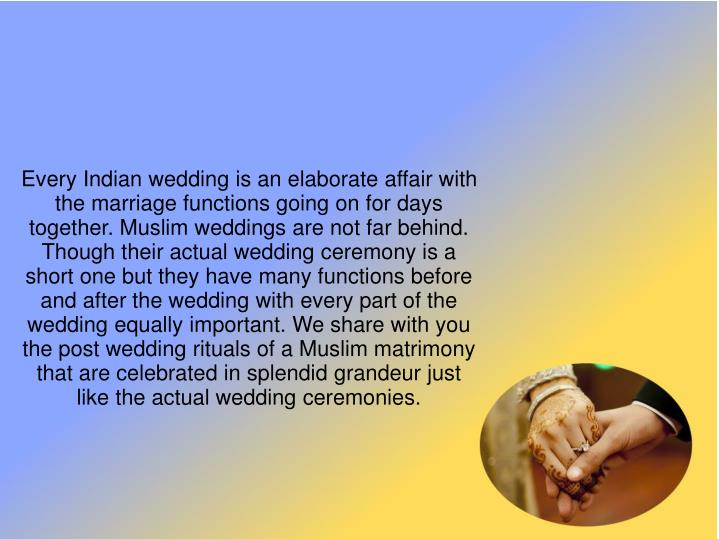 Every Indian wedding is an elaborate affair with the marriage functions going on for days together. ...