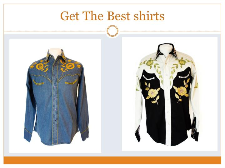 Get The Best shirts