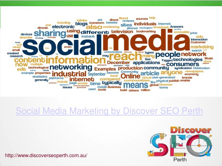 Social Media Marketing by Discover SEO Perth