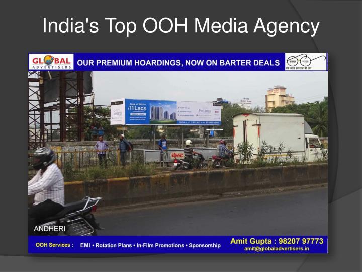 India's Top OOH Media Agency