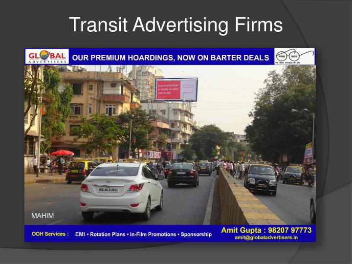 Transit Advertising Firms