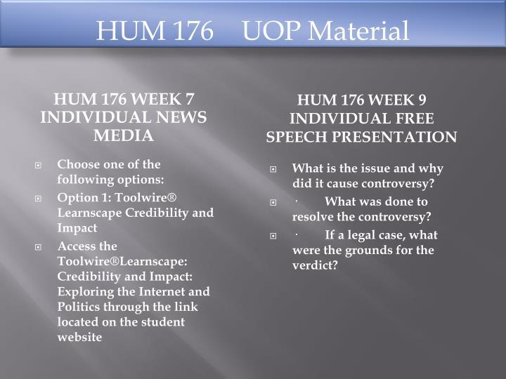 HUM 176