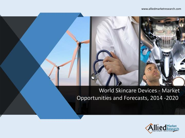 World skincare devices market opportunities and forecasts 2014 2020
