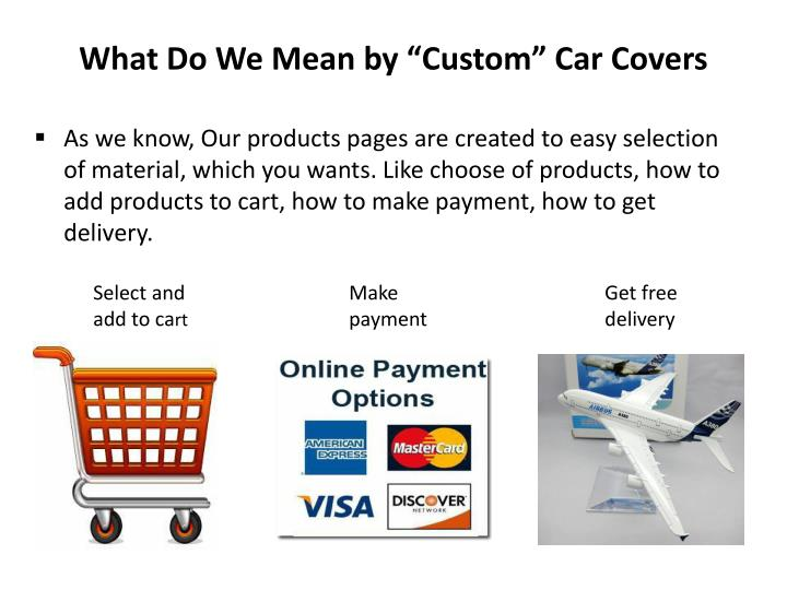 What Do We Mea? by ?Custo?? Car Covers